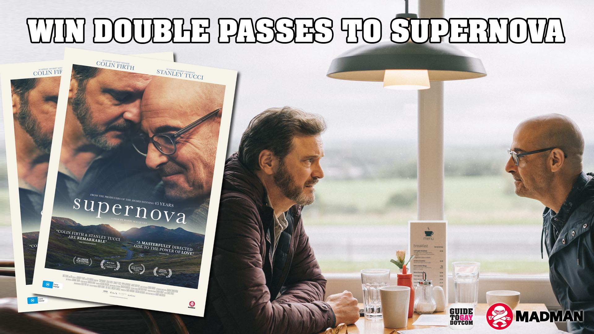 Supernova Movie Ticket Giveaway