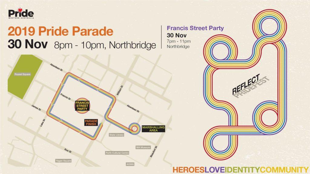 WA – Perth Pride Parade 2019